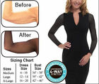 how to correct back posture - Women Slim Arm Correct Back Posture Humpback Prevent Long Sleeve Shaper