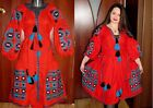 Ethno Authentic Dress Ukrainian Embroidery Vishivanka Vita Kin Style: S M L XL