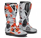 Sidi | Crossfire 3 Srs Boots Red Fluo Grey Motorcycle Mx Motocross Offroad Endur