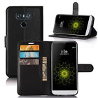 Flip Magnetic Card Slot Wallet PU Leather Phone Case Stand Cover Skin For LG G6