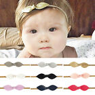 1/3x Baby Toddler Kids Girls Leather Bow Hairband Headband Hair Accessories