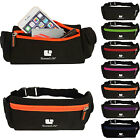 SumacLife Unisex Cycling Running Belt Jogging Waist Pouch Fanny Pack Sports Bag  image