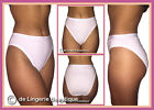 5 Pairs Lady Olga Cotton Briefs White or Black SUPERB QUALITY Size 10/12, 14/16