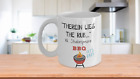 """""""Therein Lies the Rub..."""" W. Shakespeare BBQ MUG LET'S EAT!"""