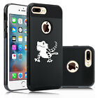 For iPhone X SE 5 6 6s 7 8 Plus Shockproof Hard Case Cover Bearded Dragon Lizard
