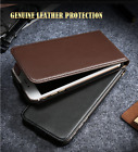 Genuine Leather Retro Real Case Vertical Magnetic For iPhone 6 6s 7 / 6 7 Plus