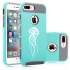 For iPhone X SE 5 5s 6 6s 7 8 Plus Shockproof Hard Case Jell
