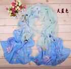 2017 Fashion New Style Women's Chiffon Parrot Scarf Soft Wrap Shawl 7 colours