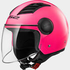 LADIES MOTORCYCLE LS2 OF562 AIRFLOW SCOOTER OPEN FACE HELMET WITH VISOR NEW