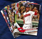2017 Topps Cleveland Indians Baseball Card Your Choice - You Pick