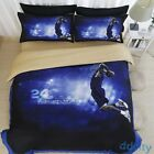 3D Basketball Quilt Cover Bedding Sets NBA Character Kobe Duvet Cover Pillowcase