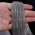 1.5mm-3mm Wholesale in Bulk Silver Strong Welding Stainless Steel Rolo Chain