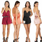 New Women Ladies Clubwear Playsuit Bodycon Party Jumpsuit Romper Trousers Pants