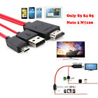 Samsung Galaxy Android Phone 1.8 USB Micro MHL To HDMI 1080P HD TV Cable Adapter