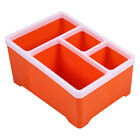 Hot Sale Cute Plastic Office Desktop Storage Boxes Makeup Organizer Storage Box