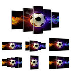 GLASS PRINTS 30 SHAPES Picture abstract ball flame football 2111 UK