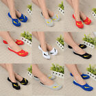 5x Mens Woens Casual Boat Socks Cotton Loafer Nonslip Invisible Low Cut No Show