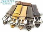 22mm Italy Genuine Leather Watch Strap Vintage Classic wristband multicolored