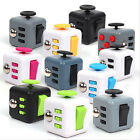 New Fidget Fun Cube Anxiety Stress Relief attention Focus 6side Dice Kid toys