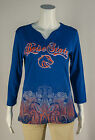 Boise State Broncos P.Michael Round Neck 3/4 Sleeve All Over Print NCAA BOISE47F