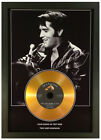 ELVIS PRESLEY **ADD YOUR PERSONAL MESSAGE** SIGNED GOLD DISC DISPLAY...