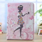 3D Diamond Butterfly Girl PU Leather Stand Case Cover For Samsung Galaxy Tab S2
