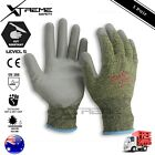 Super Shield PU Cut Resistant Safety Work Gloves 1 Pair Cut Proof Gloves