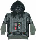 Star Wars Darth Vader Charcoal/Black Boys Costume Hoodie New $13.19 USD