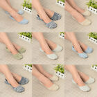 Mens Womens Casual Cotton Loafer Boat Non-Slip Invisible Low Cut No Show Socks