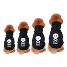 Pet Small Dog Hoodie Lovely Soft Skull Clothes Coat Outwear Apparel Warm Puppy
