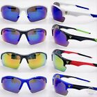 New Sports Sunglasses Cycling Mens Sport Bike UV400 Driving Lens Outdoor (#9181)