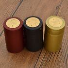 10X Shrink Capsules PVC Heat Cap for Wine Bottle Winery Seal Cover Homebrew DIY