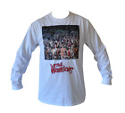 T SHIRT LONG SLEEVE THE WARRIORS MOVIE POSTER MENS WHITE ALL SIZES S TO 3XL
