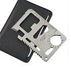 Multi Purpose 11 in 1 Pocket Credit Card Survival Knife Outdoor Camping Tools