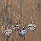 medic alert pendant - Crystal Heart Diabetic Autism Necklace Medical Alert Pendant Jewelry Gifts