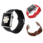 Replacement Leather Business Wrist Watch Band Strap For Apple Watch iWatch