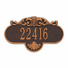 Rochelle Personalized Address Plaque