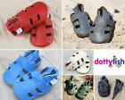 Dotty Fish Soft Leather Baby and Toddler Sandals 0 - 6 Months - 3 - 4 Years