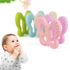 Cute Baby Kids Butterfly-shaped Teething Silicone Teeth Toy Soother Teether