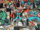 Vintage Character Toss Marvel CP57571 Springs Craft Sewing Quilt Cotton Fabric