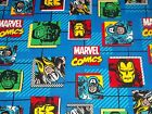 Marvel Comics Block CP59497 Blue Springs Sewing Quilting Crafting Cotton Fabric
