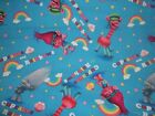 Cupcakes Rainbows Trolls CP59750 Springs Crafting Sewing Quilting Cotton Fabric