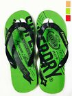Superdry Mens Flip Flops Pool Beach Sandals Slippers Size UK 7-10