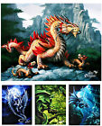 Age of Dragons Canvas Prints by Anne Stokes - 5 Mystical Magical Dragon Designs