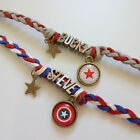 Ship Fast Marvel Winter Soldier The Avengers Bucky Barnes Captain Bracelet Chain
