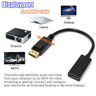 Super Speed 4K×2K DisplayPort DP To HDMI Cable for DELL HDTV ThinkPad PC Full HD