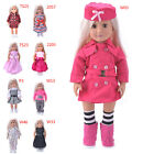 Hot Madame Handmade fashion Doll Clothes dress For 18 inch American Girl Doll NT