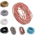 5m Round Bolo Braided Man-made Leather Cord Thread For Jewelry Making DIY 3mm