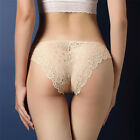 Womens Seamless Lace Panties Briefs Underwear Lingerie Knickers Thongs G-String