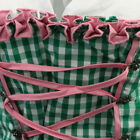 Hot Oktoberfest Costume Bavarian German Heidi Dirndl Apron Beer Wench Maid Dress
